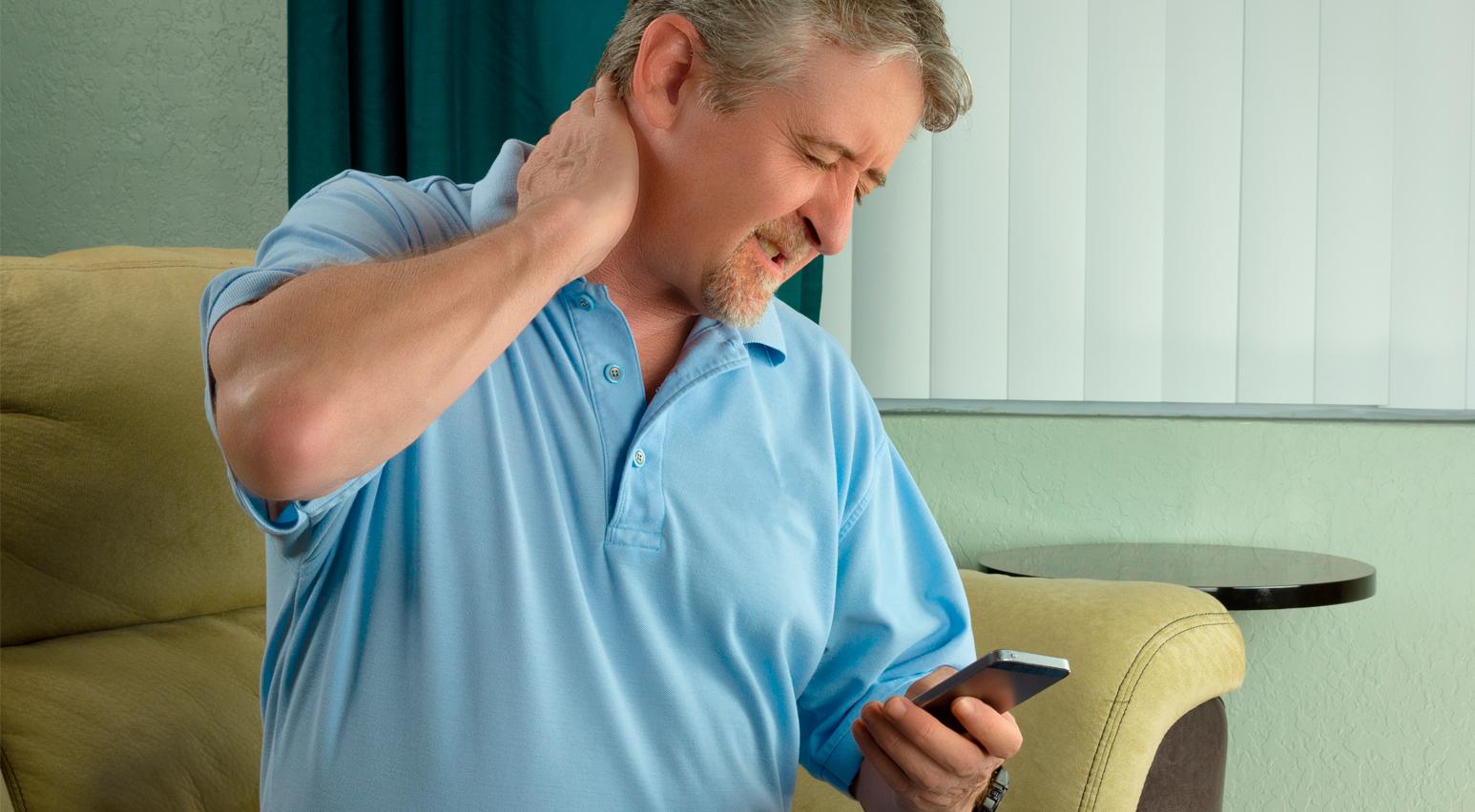 síndrome de cuello de texto